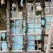 la maison aux vitres bleues (détail)