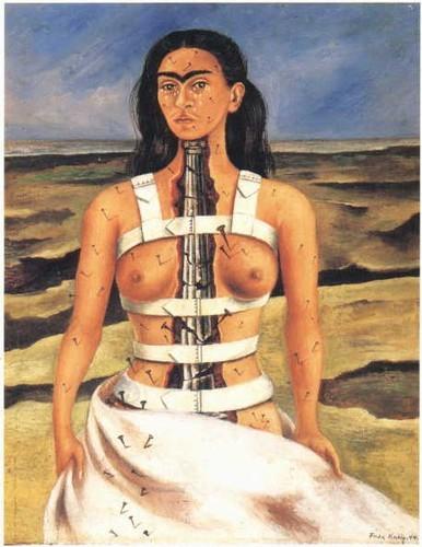 Frida Kahlo La colonne brise.jpg