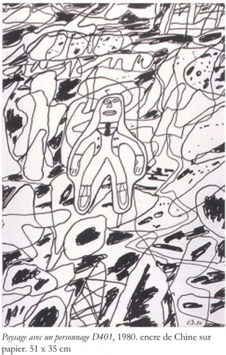 Jean Dubuffet Paysage avec un personnage.jpg