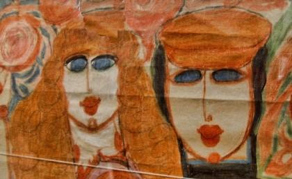 art brut,Aloïse Corbaz,Cloisonné Théatre,LaM