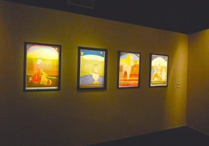 Friedrich Schröder-Sonnenstern,halle st pierre,exposition sous le vent de l'art brut,martine lusardy,collection charlotte zander,art brut,art naïf,zanderland