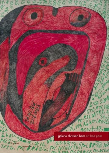 Giovanni Bosco,Galerie Christian Berst,art brut