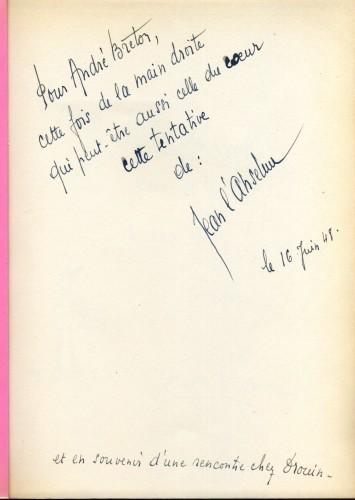 Jean L'Anselme,André Breton