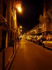 rue de charenton nuit vide.JPG