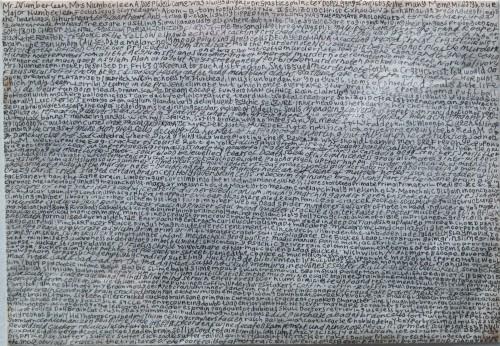 Nick Blinko, Dr Fritz O'Skeenia, vers 1998, encre sur papier, 11x16cm, Henry Boxer Gallery copie.jpg