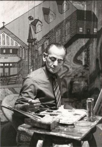 Arthur Villeneuve,art naïf,Québec