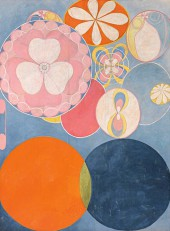 hilma af klint,art médiumnique,art abstrait