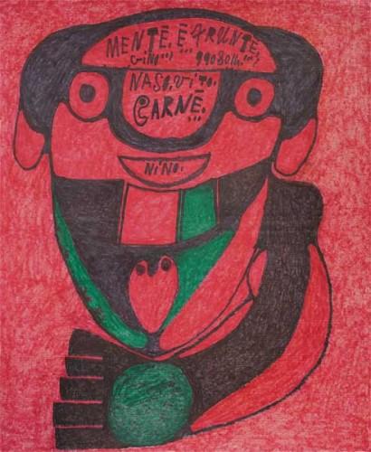 Giovanni Bosco,art brut,,Galerie Christian berst