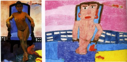 Alexis Lippstreu,Paul Gauguin