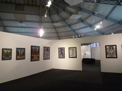halle st pierre,exposition sous le vent de l'art brut,martine Lusardy,Collection Charlotte Zander,art brut,art naïf,Zanderland