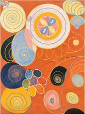 hilma af klint,art médiumnique,art abstrait